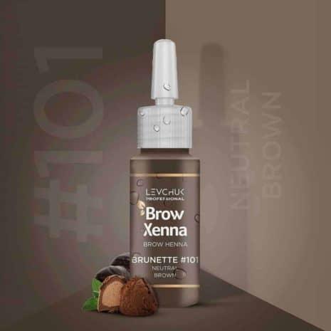 BrowXenna 101 Neutral Brown