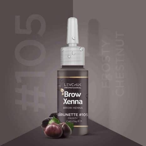 BrowXenna 105 Frosty Chestnut