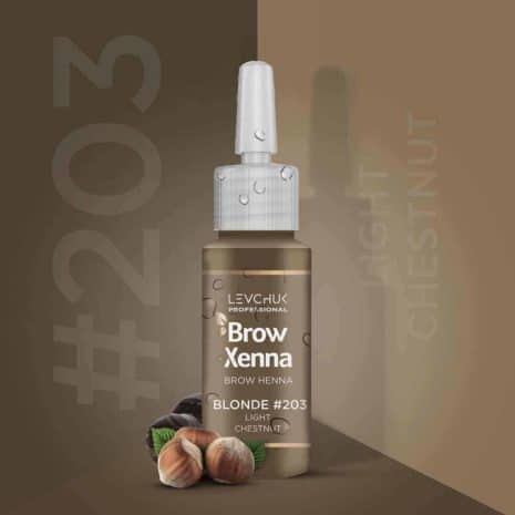 BrowXenna 203 Light Chestnut