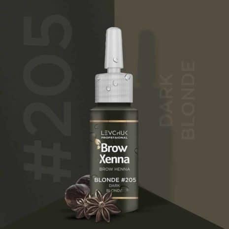 BrowXenna 205 Dark Blond